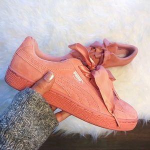 Suede puma shoes